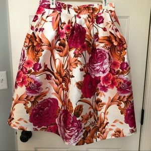 Chicwish Floral full skirt. Size Large